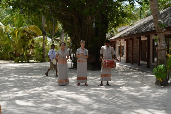 Kuredu Island Resort & Spa: our welcome