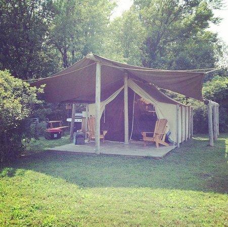 Oakwood Escape : Our Tent