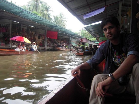 Tiger Temple Thailand Tour : floating market