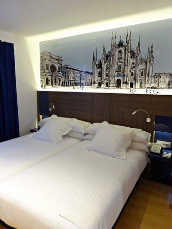 Sercotel Blue Coruña: cama comodisima