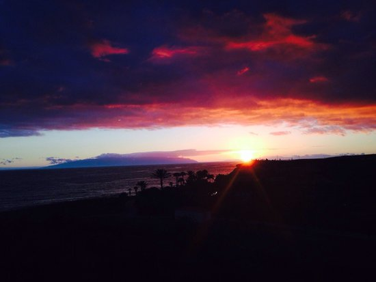 Hotel Riu Palace Tenerife : Sunset