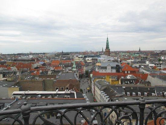 Rundetårn : View from The Round Tower, Copenhagen