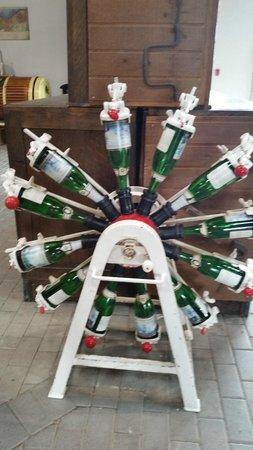 Pelee Island Winery: wine bottles