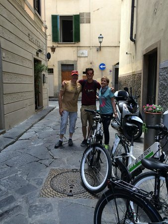 Caf Florence, Tuscany & Italy Tours : My husband and I with Gabrielle