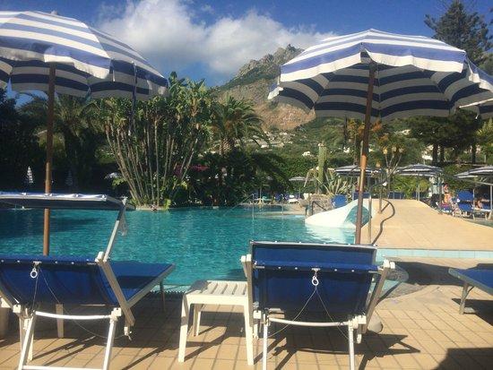 Park Hotel Terme Mediterraneo: Pool bei Tageslicht 2