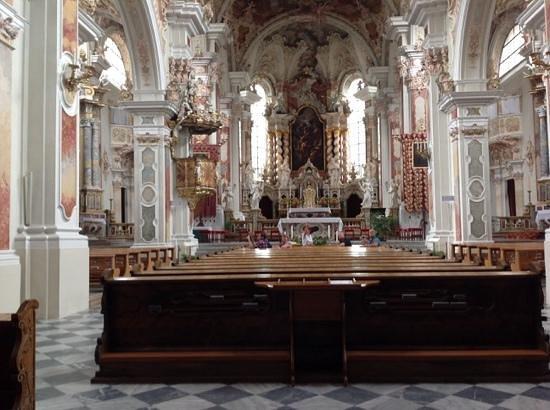 Abbazia di Novacella: la chiesa barocca