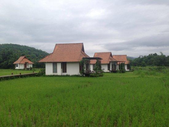 Manee Dheva Resort & Spa: Vue depuis notre chambre