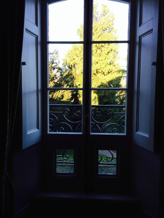 The Falcondale Hotel: View from bedroom