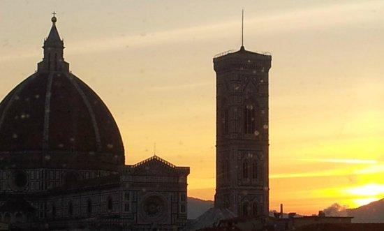 Grand Hotel Baglioni Firenze : Favolosa alba...
