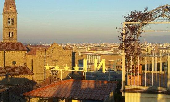 Grand Hotel Baglioni Firenze: Vista incantevole...