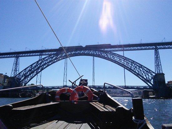 Rio Douro: Le pont Dom avec le métro sur le pont supérieur