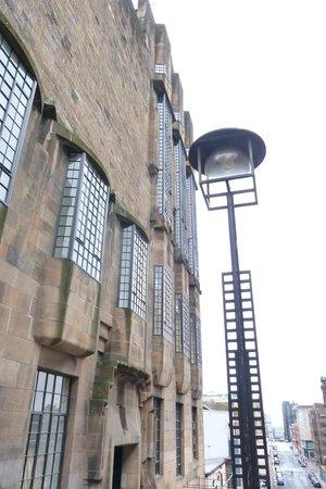 The Glasgow School of Art : Exterior