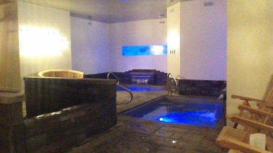 Auberge La Grande Maison : spa