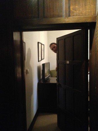 Great Fosters: Door to our room