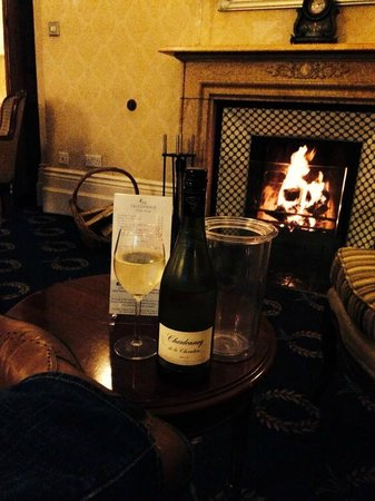 The Falcondale Hotel: Wine time
