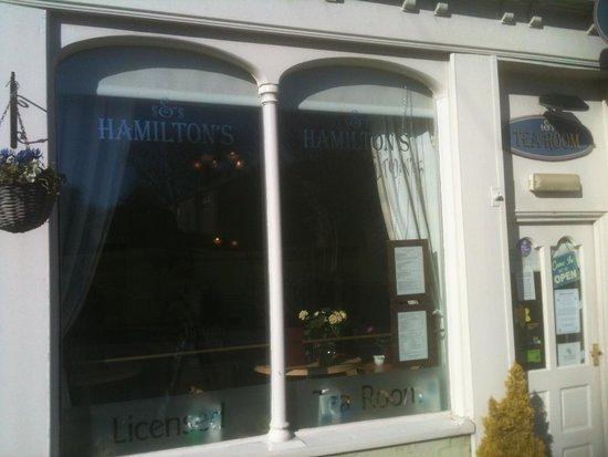 Yoredale House Guesthouse and Hamilton's Tea Room : The Tea Room