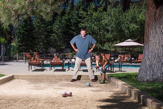 Juniper Springs Resort: Bocce Ball Court