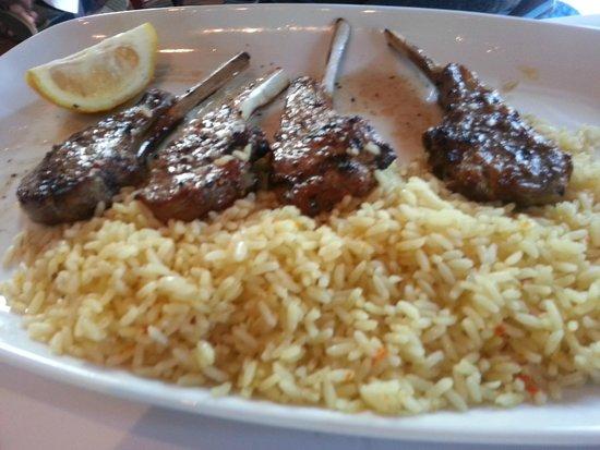 Opa Grille: lamb chops