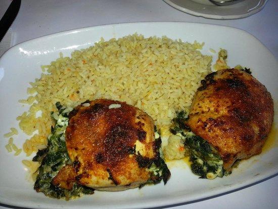 Opa Grille: mediterranean chicken
