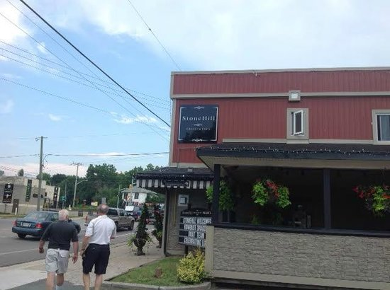 StoneHill Grille & Taps: From Parking Lot
