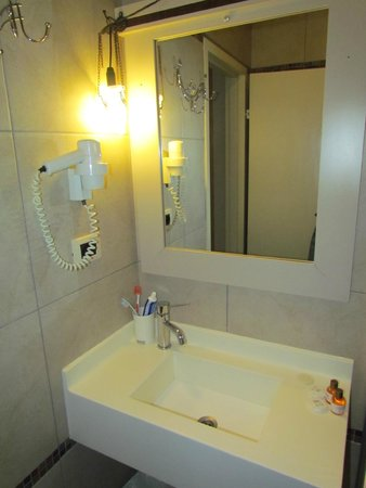 Hotel Evsen: Bagno