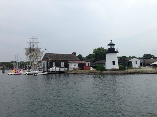 Mystic Seaport: A view from the boat