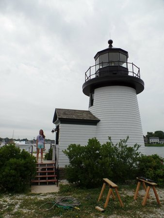 Mystic Seaport: The closed lighthouse