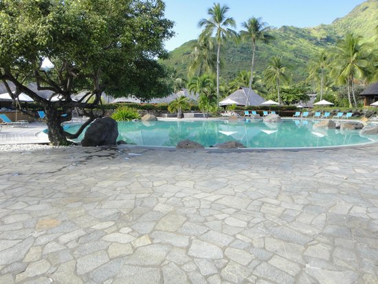 Hilton Moorea Lagoon Resort & Spa: Pool