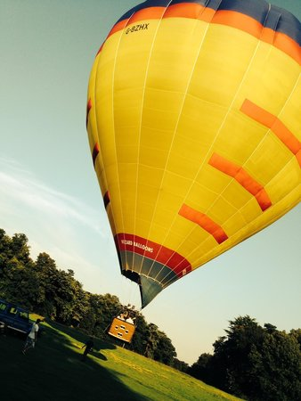 Wizard Balloons: Take off from Nowton Park