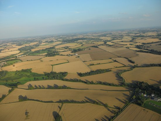 Wizard Balloons: Suffolk from the air