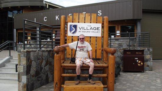 Squaw Valley Ski Area: Big Chair