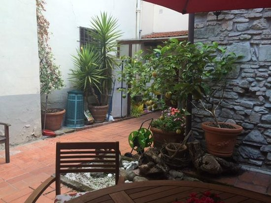 Il Giglio d'Oro : Lovely back patio area