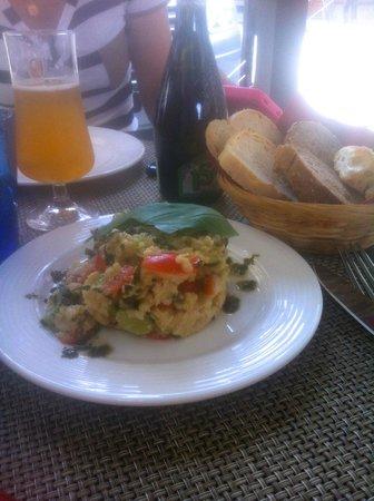 """Il Desco Bistro : """"panzanella"""" ou salade pain typique toscane. délicieux."""