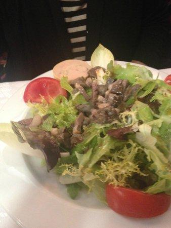 Restaurant Versailles : Ensalada con Pato