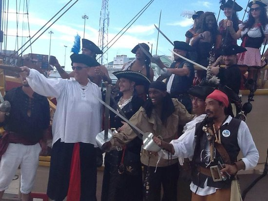 The Jolly Roger : The Pirates!
