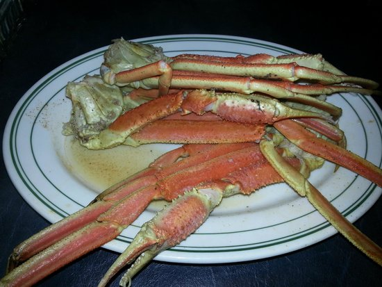 Boondocks: The first of many plates of snow crab legs. I only stopped because the wife couldn't stay awake.