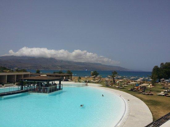 Cavo Spada Luxury Resort & Spa : View from hotel balcony