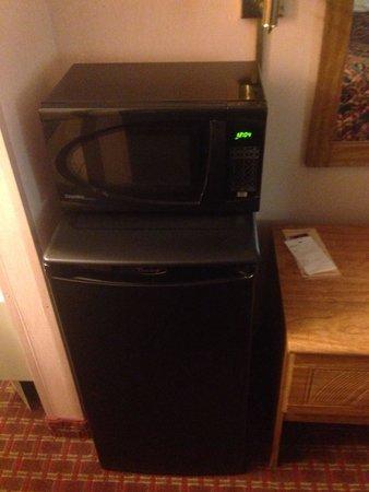 Days Inn Renfro Valley Mount Vernon : Mini fridge and microwave.