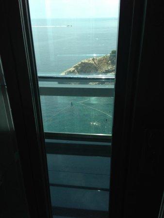Hotel Bellevue Dubrovnik: Glass lift