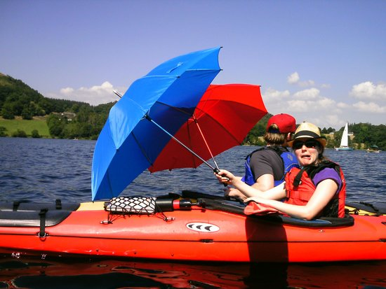 Glenridding, UK: Brolly catamaran