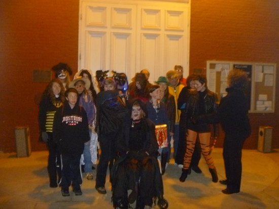 Charles Town Ghost Tours: halloween masquerade tour