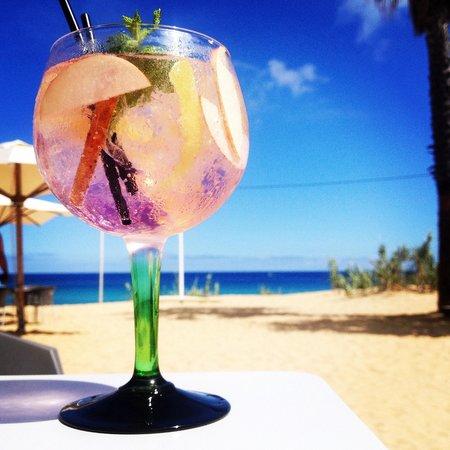Pe na Agua Restaurant: Gin