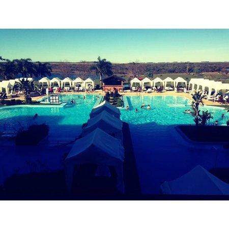 Arapey Thermal Resort and Spa: piscina descubierta, con agua termal