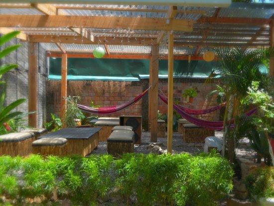 Hostel Mangifera: Hamacas