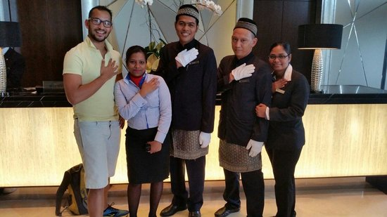 InterContinental Kuala Lumpur: My friends and I at the InterContintental KL. Love the staff here. Mohammed Izzat is a celebrity