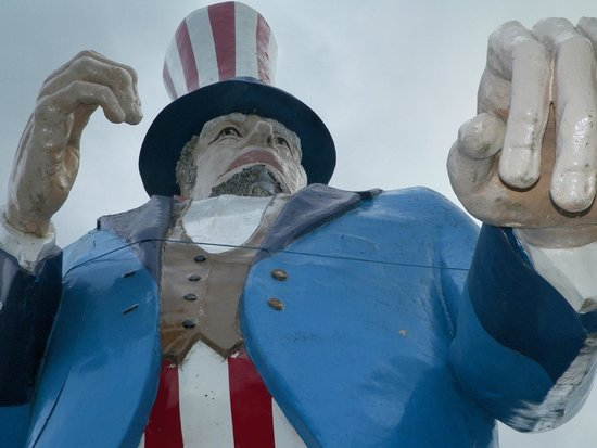 Magic Forest: The largest Uncle Sam ever