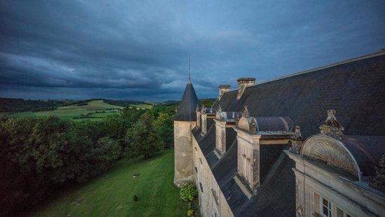 Château de La Côte : Vue depuis la tour de la chambre