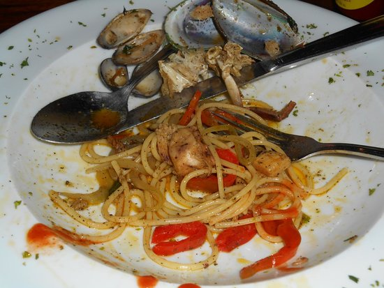Linda Vista Hotel: Delicious Pasta with Seafood