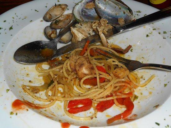 Linda Vista Hotel : Delicious Pasta with Seafood
