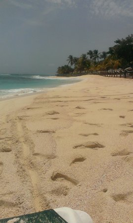 Palm Island Resort & Spa: one of the many deserted beaches